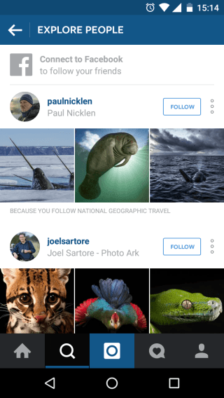Instagram Explore - how to use instagram