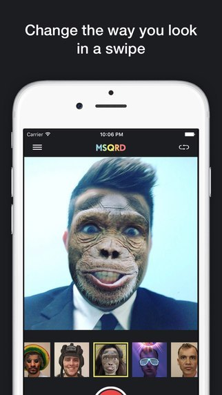 MSQRD - cool face swap apps
