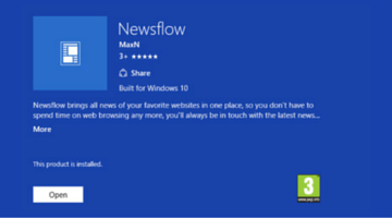 Newsflow is a Gorgeous New RSS Reader for Windows 10 fi
