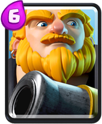 Clash Royale Cards in Arenas - royal giant