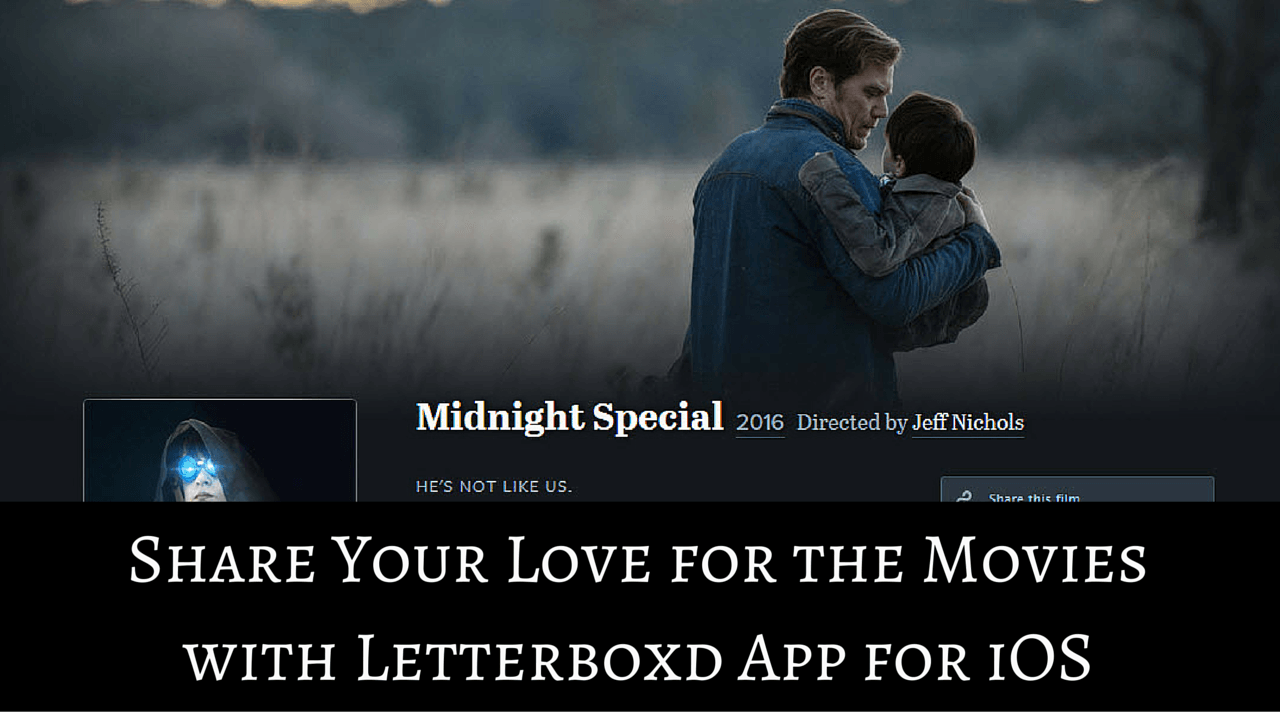 Letterboxd App for iOS Review - Share Your Love for the Movies