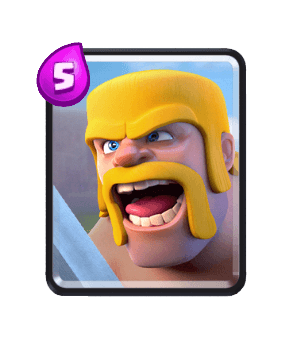 Clash Royale Cards in Arenas - barbarian
