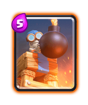 Clash Royale Cards in Arenas - Bomb Tower
