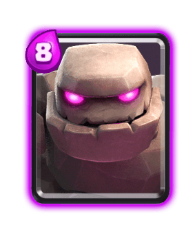 Clash Royale Cards in Arenas - Golem