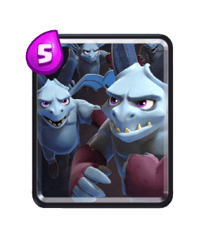 Clash Royale Cards in Arenas - Minion Horde