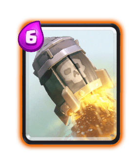 Clash Royale Cards in Arenas - rocket