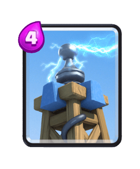 Clash Royale Cards in Arenas - Tesla