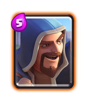 Clash Royale Cards in Arenas - wizard
