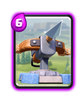 Clash Royale Cards in Arenas - X-Bow