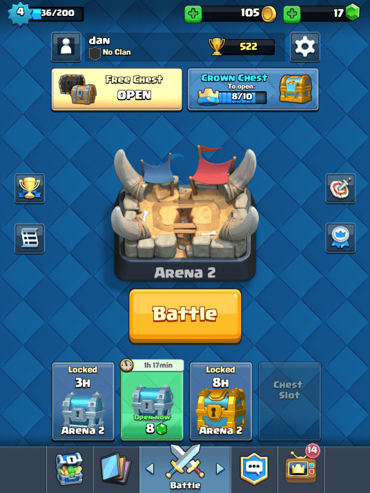 Clash Royale Strategies and Tips for Beginners - Chest Open Times