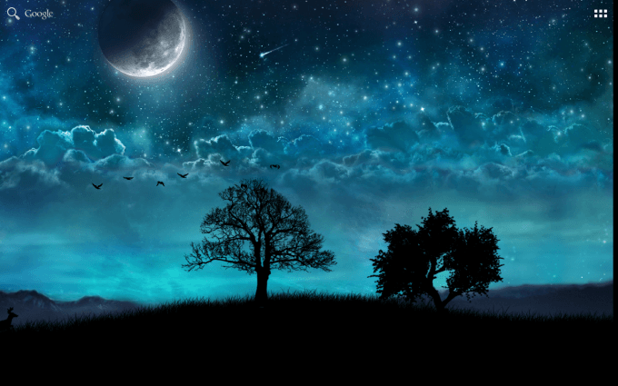 Dream Night Free Live Wallpaper
