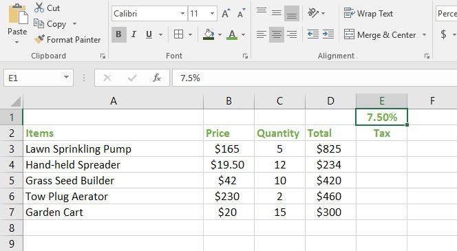 relative and absolute cell references in excel how to write a formula using absolute references