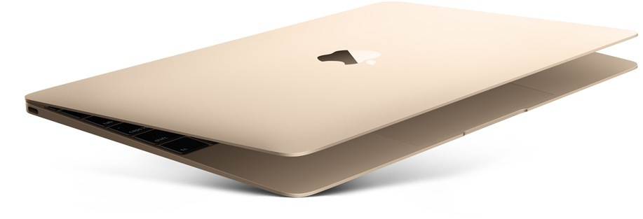Upgraded Macbook in Rose Gold