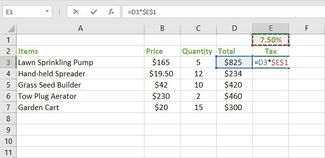 how to make absolute value in excel