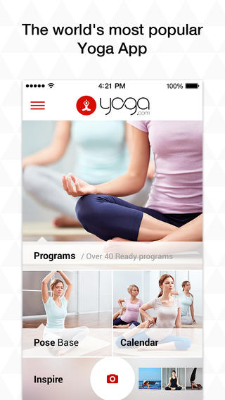 top yoga apps to reduce stress and improve your health. Black Bedroom Furniture Sets. Home Design Ideas