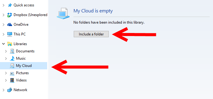 Manage Multiple Cloud Folders in Windows