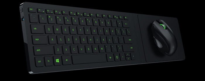 razer turret - ergonomic gaming keyboard
