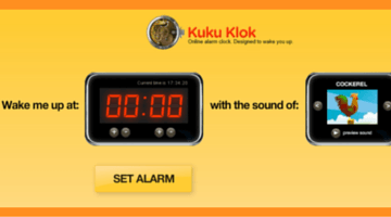 Set on Online Alarm In a Jiffy at KuKu Klok fi