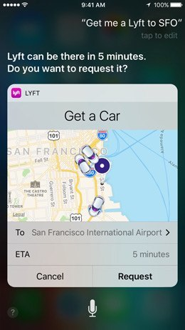 ios 10 features - siri and maps