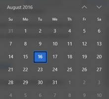 How to Add Events to the Windows Calendar App from Taskbar - tfi