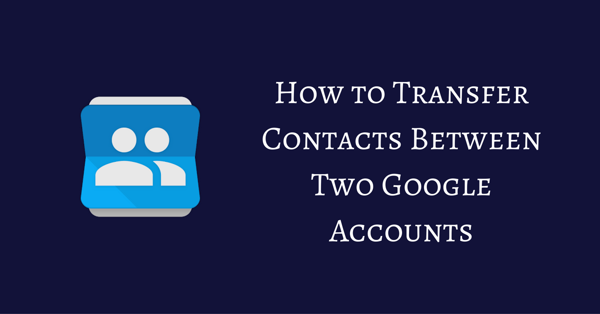 how to download contacts from google account