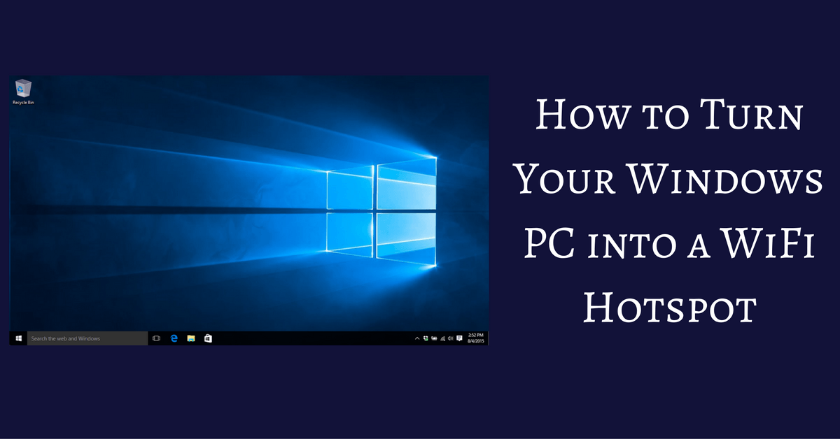 how to connect pc to wifi hotspot