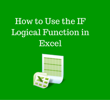 Learn Excel _ How to Use the IF Logical Function tfi