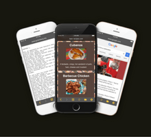 Scroll Web Pages Hands Free with Face Browse App for iOS - tfi