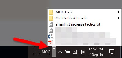 How to Quickly Open Folders in the Windows 10 Taskbar