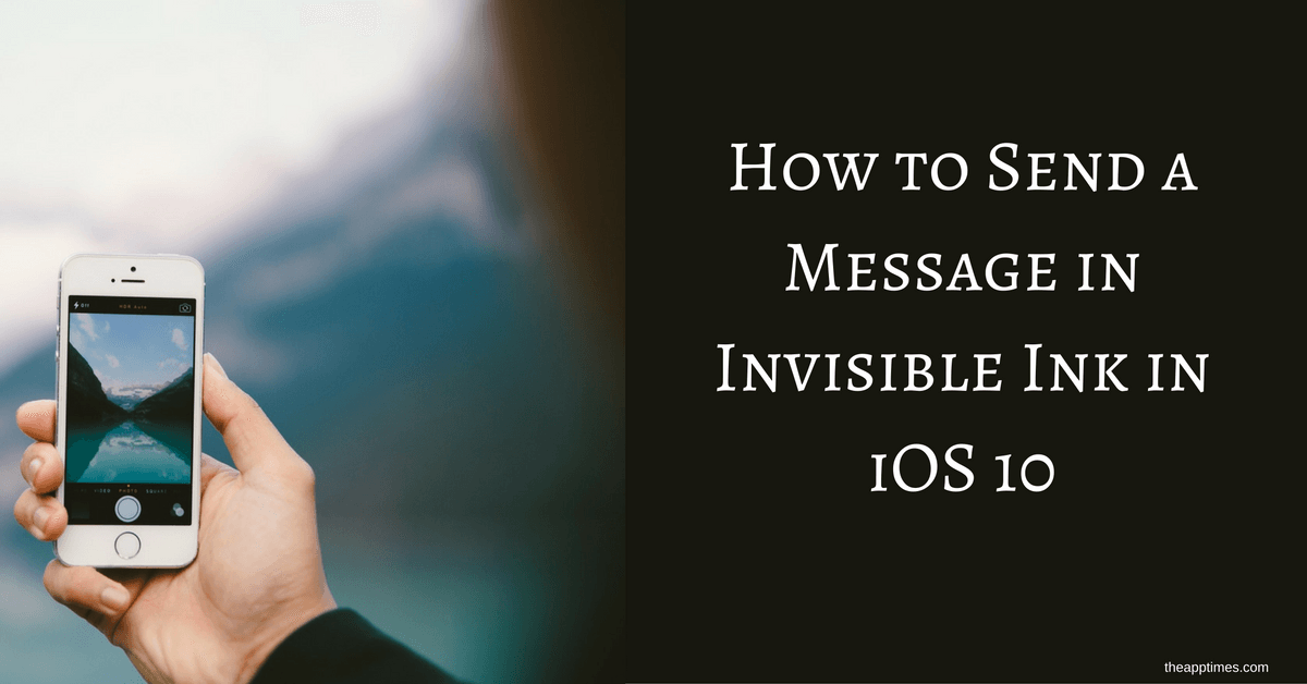 how to make apps invisible ios 10