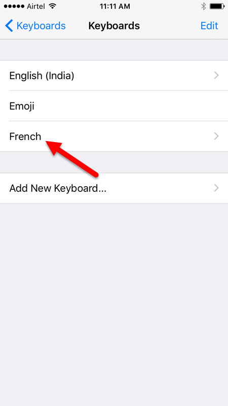 How to Set Up Multiple Languages for Typing in iOS 10