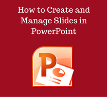 How to create and manage slides - tfi