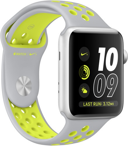 apple watch nike silver volt