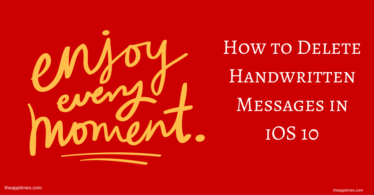 Image Result For How To Send Handwritten Messages In Ios