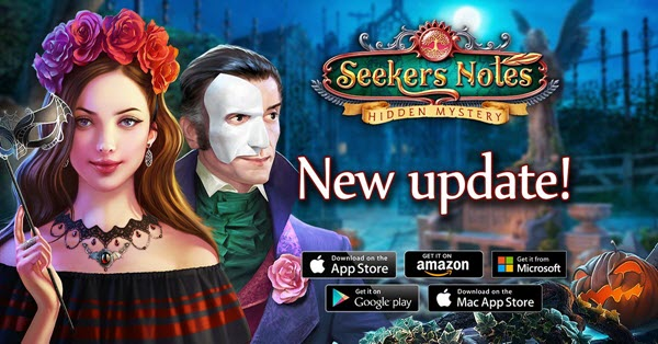 Hidden Mystery Game Seekers Notes Halloween Update