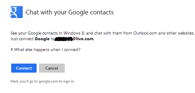 How to Chat with Gmail Contacts in Outlook