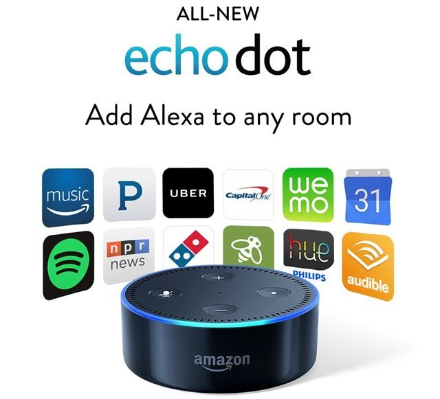 Echo dot Perfect Christmas Gift Ideas for Tech Lovers