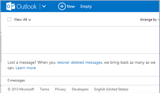 How to Recover Accidentally Deleted Email in Outlook dot com