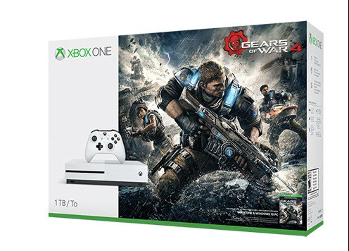 Xbox One S Holiday Bundles - Gears of War 4 Bundle