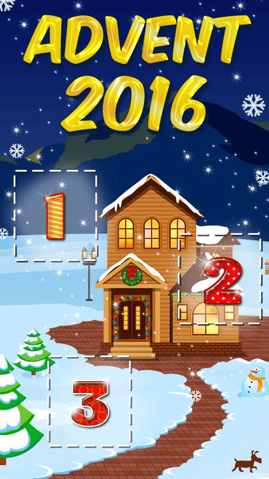 25 Days of Christmas Holiday Advent Calendar 2016