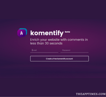 Komentify is a Clean and Classy Comment System Your Website Needs - tfi