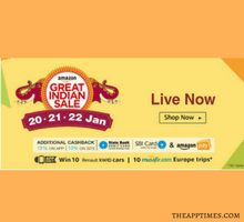 Best Picks in the Amazon Great Indian Sale Jan 2017 - tfi