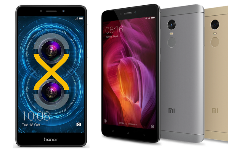 Comparing the Xiaomi Redmi Note 4 and Honor 6X