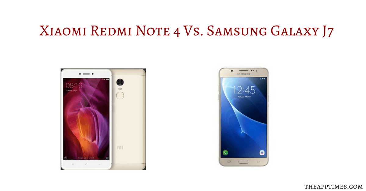 Xiaomi Set To Launch Redmi Note 4 And Redmi 4x In Mexico: Xiaomi Redmi Note 4 Vs Samsung Galaxy J7