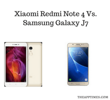 Xiaomi Redmi Note 4 Vs. Samsung Galaxy J7 - tfi