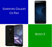 Comparing the Samsung Galaxy C9 Pro and Moto Z - tfi