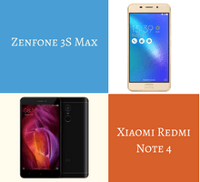 Comparing the Xiaomi Redmi Note 4 with ASUS Zenfone 3S Max - tfi