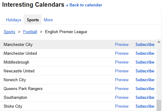 How to Add Your Favorite Sports Team Schedule to Google Calendar