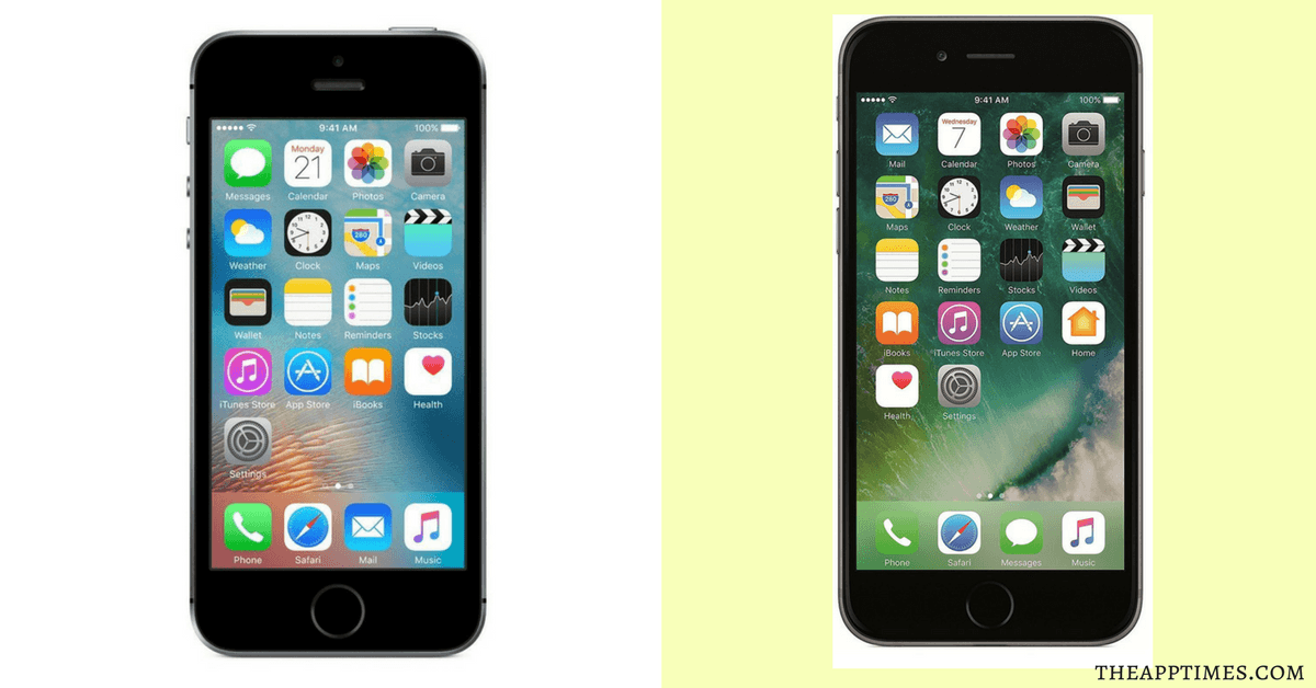 iphone 6 vs se 32gb