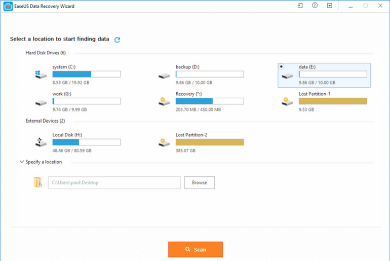 EaseUS Data Recovery Wizard 11.6 Review